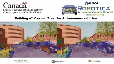 Webinar Recording: How do you build AI you can Trust for Autonomous Vehicles
